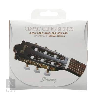 IBANEZ ICLS6NT Nylonové struny pro klasickou kytaru