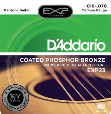D'ADDARIO EXP23 Struny pro barytonovou kytaru