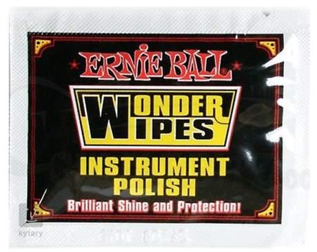 ERNIE BALL Wonder Wipes Instrument Polish 20-Pack Kytarová kosmetika