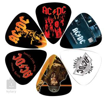 PERRIS LEATHERS AC/DC Picks IV Signature trsátka