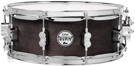 "PDP 14""x5,5"" Black Wax Maple snare Snare bubínek"