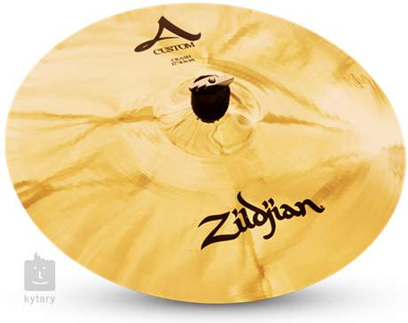 "ZILDJIAN 17"" A Custom crash brilliant Činel crash"