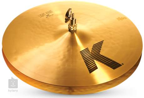 "ZILDJIAN 16"" K light hi hat Činely hi-hat"
