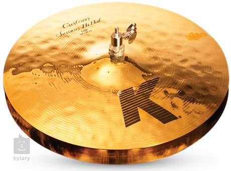 "ZILDJIAN 14"" K Custom session hi hat Činely hi-hat"