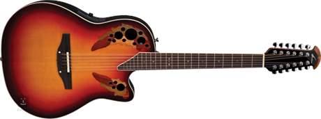 OVATION 2758AX-NEB Dvanáctistrunná elektroakustická kytara