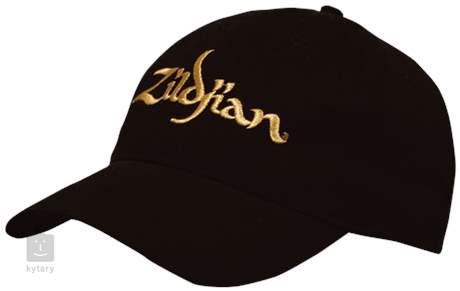 ZILDJIAN Baseball Cap With Gold Logo Oblečení pro muzikanty