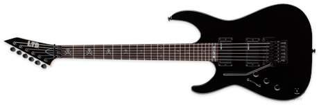 ESP LTD KH-202 BLK LH Levoruká elektrická kytara