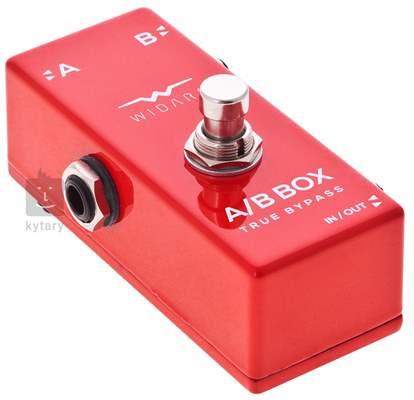 WIDARA A/B Box Mini Red Signálový přepínač