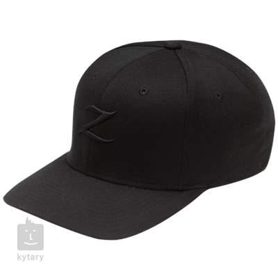 ZILDJIAN Black On Black Stretch Fit Cap Oblečení pro muzikanty