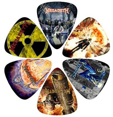 PERRI'S LEATHERS Megadeth Picks I Signature trsátka