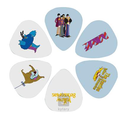 PERRI'S LEATHERS Beatles Picks Picks III Signature trsátka