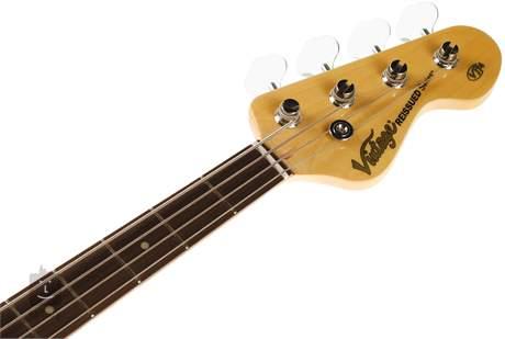 VINTAGE VJ74 BLK Elektrická baskytara