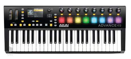 AKAI Advance 49 (použité) USB/MIDI keyboard