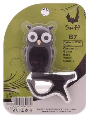 SWIFF Owl Black Klipová ladička