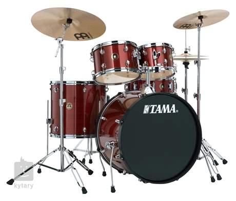TAMA Rhythm Mate Studio set Red Stream Bicí souprava s činely
