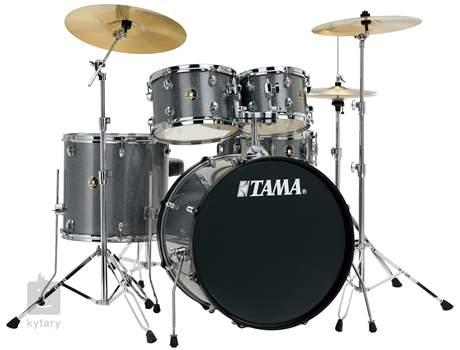 TAMA Rhythm Mate Rock set Galaxy Silver Bicí souprava s činely