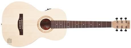 NORMAN Expedition Natural Solid Spruce Parlor SG Isys t Elektroakustická kytara
