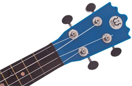 WOODI UK-21BL(BK) Akustické ukulele