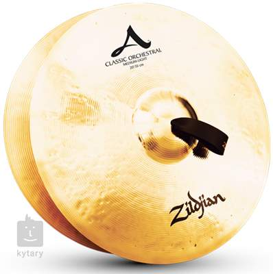 "ZILDJIAN 22"" Classic Orchestral Selection Medium Light Pair Orchestrální činely"