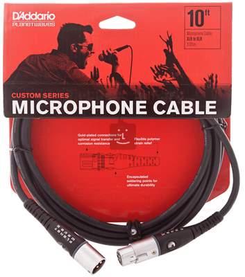 D'ADDARIO PLANET WAVES PW-M-10 Mikrofonní kabel