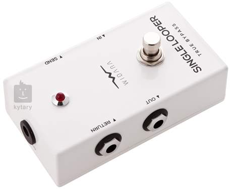 WIDARA Single Looper White Signálový přepínač