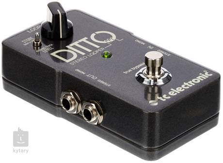 TC ELECTRONIC Ditto Stereo Looper Kytarový looper