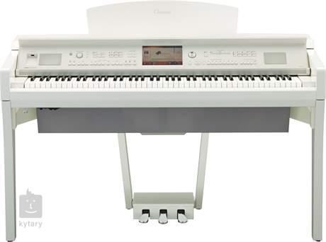YAMAHA CVP-709 PWH Digitální piano
