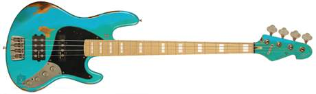 SANDBERG California II TM4 RQF HA MN BI MH Elektrická baskytara