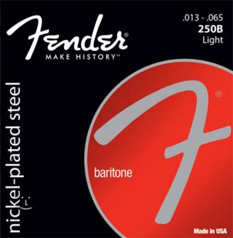 FENDER 250B Light Struny pro barytonovou kytaru
