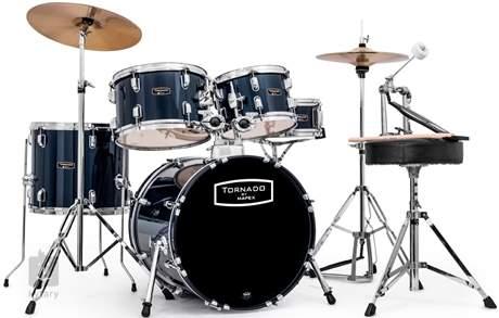 TORNADO Studio set Royal blue Bicí souprava s činely
