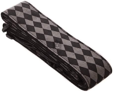 """FENDER 2"""" Nylon Diamond Strap, Black/Grey Kytarový popruh"""