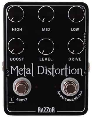 RAZZOR Metal Distortion Kytarový efekt