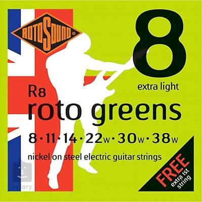 ROTOSOUND R8 Struny pro elektrickou kytaru