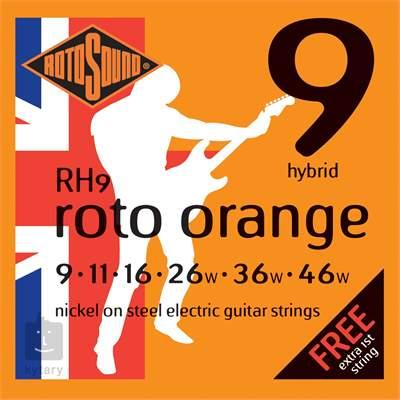 ROTOSOUND RH9 Struny pro elektrickou kytaru
