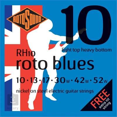 ROTOSOUND RH10 Struny pro elektrickou kytaru