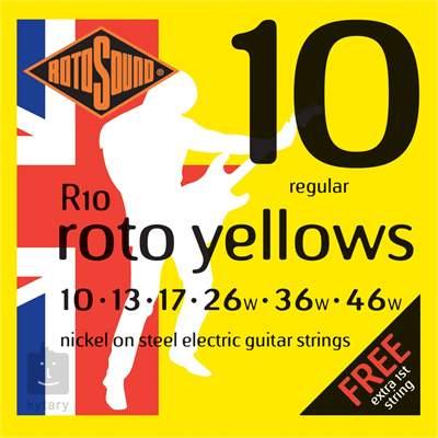 ROTOSOUND R10 Struny pro elektrickou kytaru
