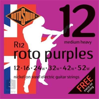 ROTOSOUND R12 Struny pro elektrickou kytaru