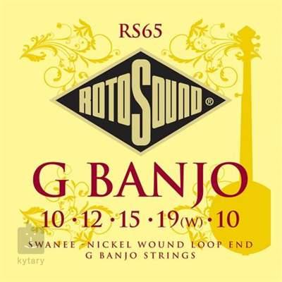 ROTOSOUND RS65 Struny pro pětistrunné banjo