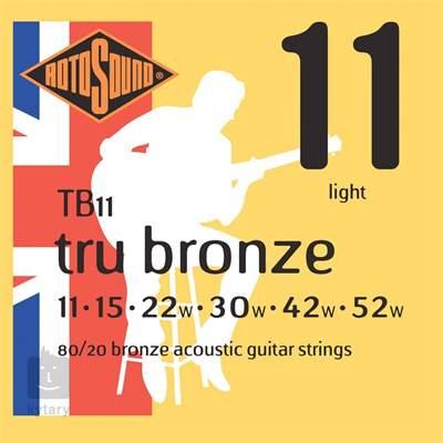 ROTOSOUND TB11 Kovové struny pro akustickou kytaru