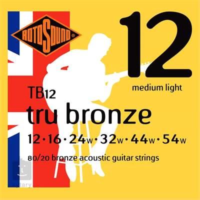 ROTOSOUND TB12 Kovové struny pro akustickou kytaru