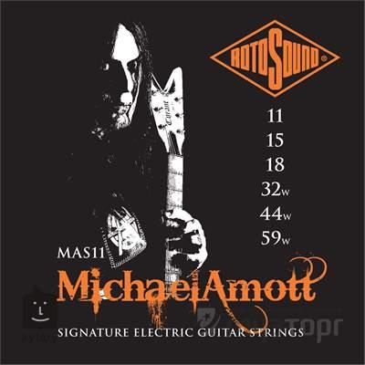 ROTOSOUND MAS11 Struny pro elektrickou kytaru