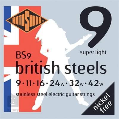 ROTOSOUND BS9 Struny pro elektrickou kytaru