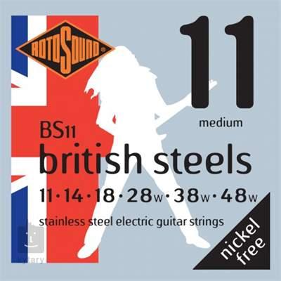 ROTOSOUND BS11 Struny pro elektrickou kytaru