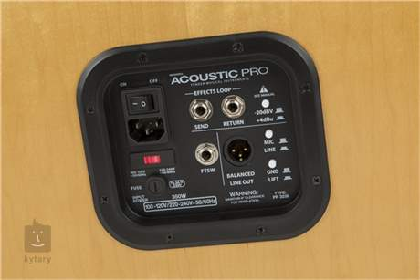 FENDER Acoustic PRO Kombo pro akustické nástroje