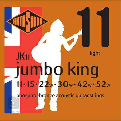 ROTOSOUND JK11 Kovové struny pro akustickou kytaru