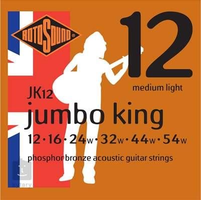 ROTOSOUND JK12 Kovové struny pro akustickou kytaru