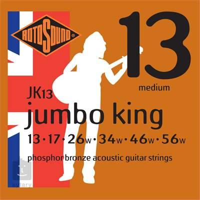 ROTOSOUND JK13 Kovové struny pro akustickou kytaru