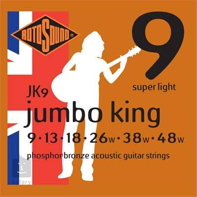 ROTOSOUND JK9 Kovové struny pro akustickou kytaru