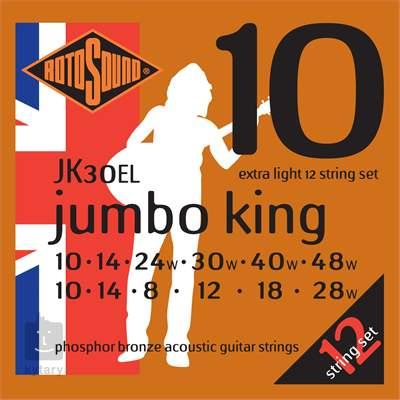 ROTOSOUND JK30EL Struny pro dvanáctistrunnou kytaru
