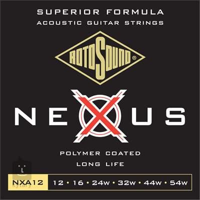 ROTOSOUND NXA12 Kovové struny pro akustickou kytaru